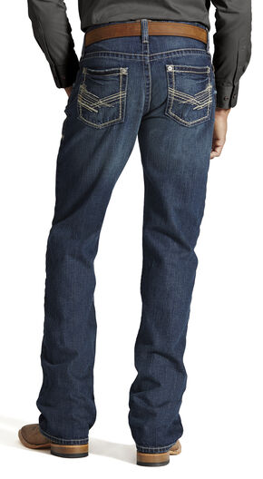 Ariat M4 Backlash Low Rise Jeans - Boot Cut, Denim, hi-res
