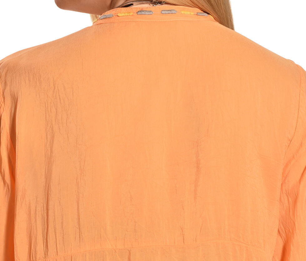 Johnny Was Women's Jezzabelle Tunic, Orange Sun, hi-res