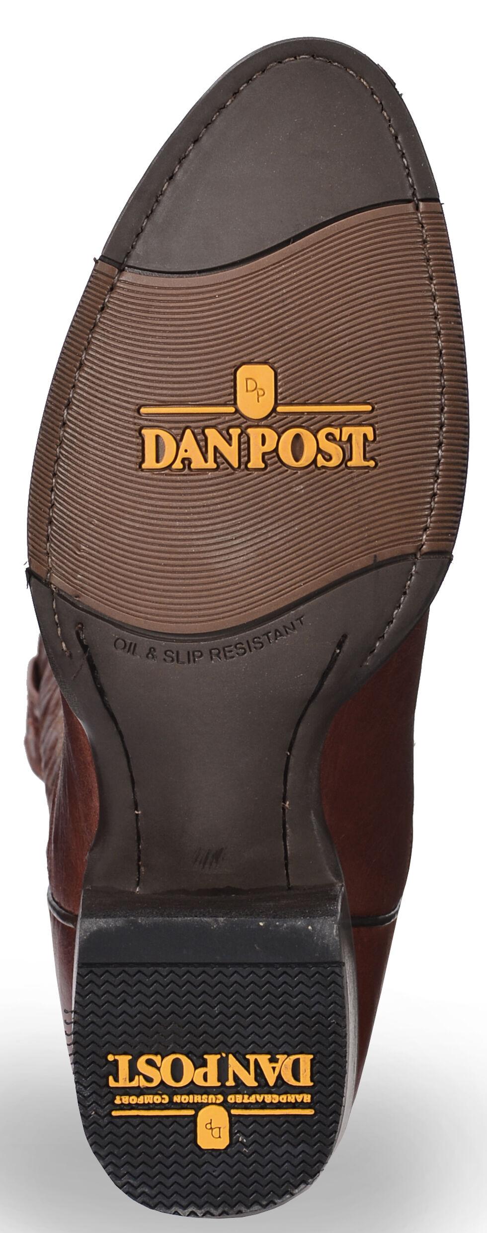 Dan Post Cash Cowboy Boots - Round Toe  , Cognac, hi-res