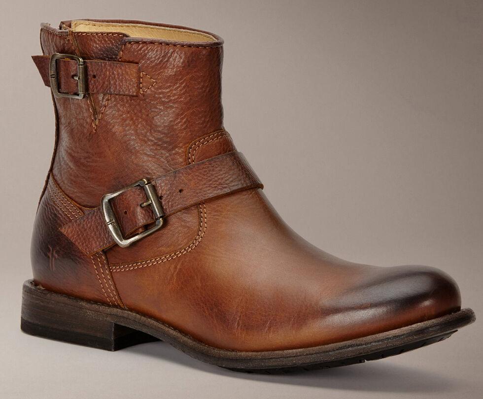 Frye Tyler Engineer Boots, Cognac, hi-res