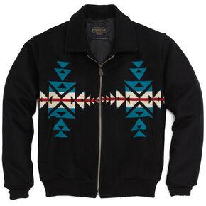 Pendleton Men's Black Santa Fe Jacket, Black, hi-res