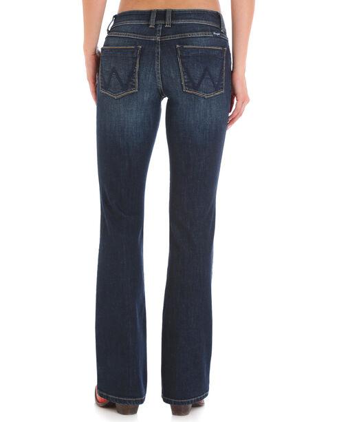 Wrangler Retro Women's Sadie Low Rise Jeans - Boot Cut, Indigo, hi-res