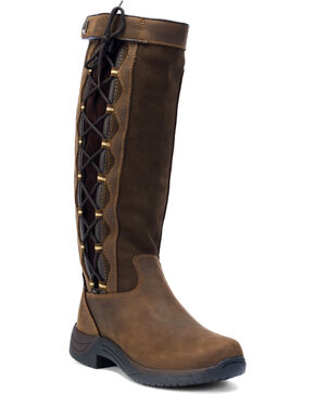 Dublin Pinnacle Equestrian Boots, Chocolate, hi-res