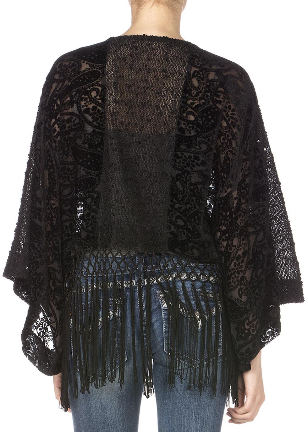 Miss Me Enchanted Lace Top, Black, hi-res