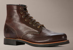 Frye Men's Arkansas Mid Lace Boots - Round Toe, , hi-res