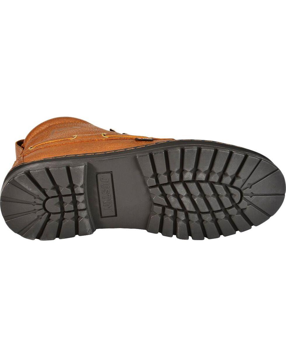 Justin Men's Chip Casual Lace-Up Boots, Copper, hi-res