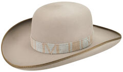 Renegade by Bailey Men's Commodore Felt Hat, Grey, hi-res