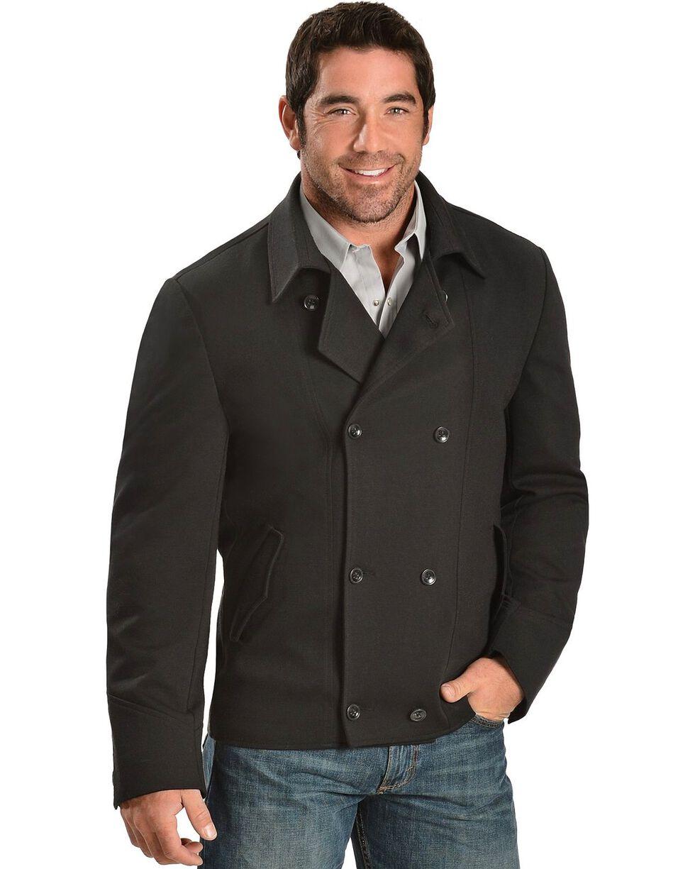 Cripple Creek Pea Coat, Black, hi-res
