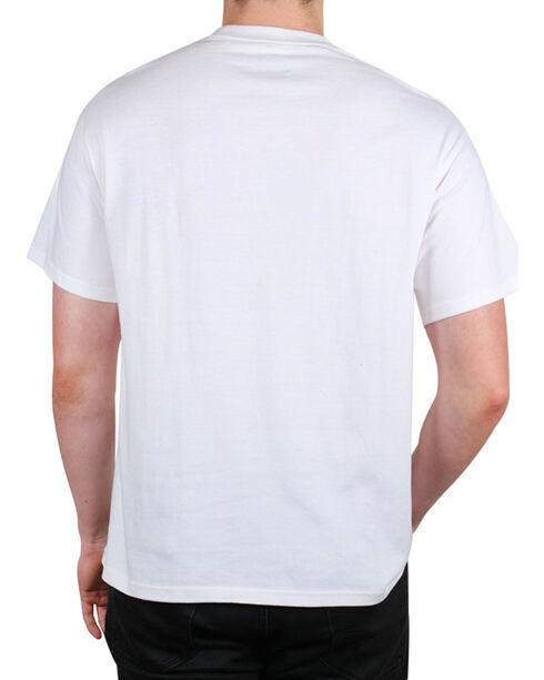 Fencepost Men's Property of America T-Shirt, White, hi-res