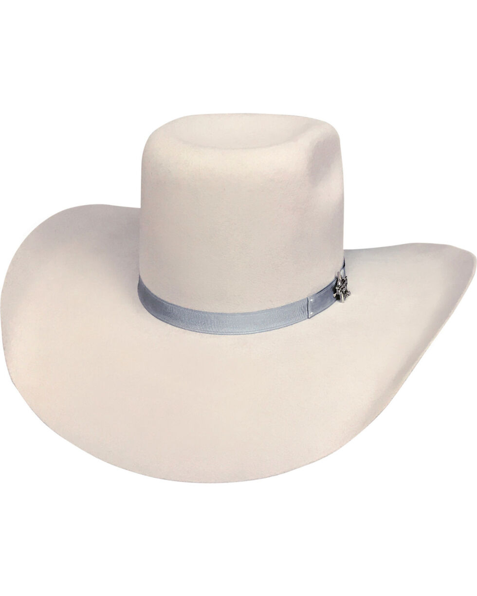 Bullhide Men's Chute Boss Silverbelly 8X Fur Cowboy Hat, Silver Belly, hi-res