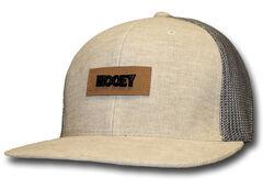HOOey Men's Chord Tan & Grey Trucker Hat  , Tan, hi-res