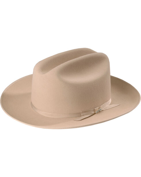 Stetson 6X Open Road Fur Felt Cowboy Hat, Silverbelly, hi-res