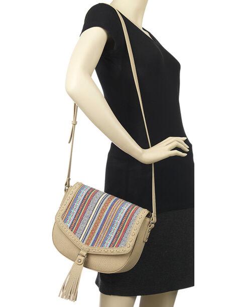 Bandana by American West Boho Rainbow Flap Crossbody Bag, , hi-res