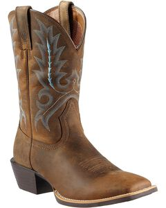 Ariat Sport Outfitter Cowboy Boots - Square Toe, , hi-res
