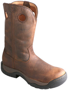 Twisted X Taupe Waterproof All Around Cowboy Boots - Round Toe, , hi-res