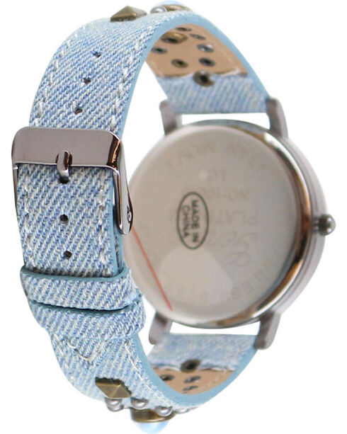 Shyanne Women's Studded Watch, Blue, hi-res