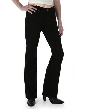 Wrangler Women's Black Magic Ultimate Riding Q-Baby Jeans - Plus , Black, hi-res