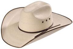 5X Hereford Straw Cowboy Hat, Natural, hi-res