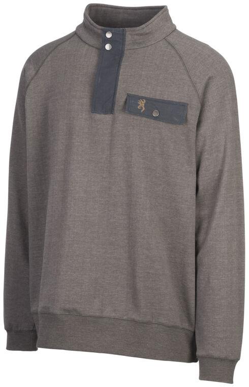 Browning Men's Olive Boulder Sweatshirt, Green, hi-res