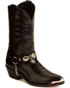Laredo Concho Harness Boots, , hi-res