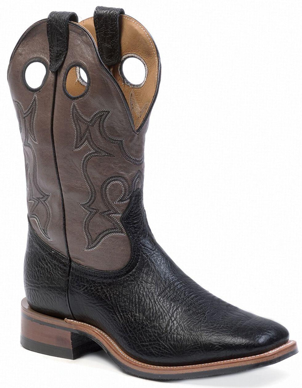 Boulet Cowboy Boots - Square Toe, Black, hi-res