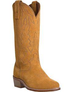 Laredo Jacksonville Suede Cowboy Boots - Round Toe, , hi-res