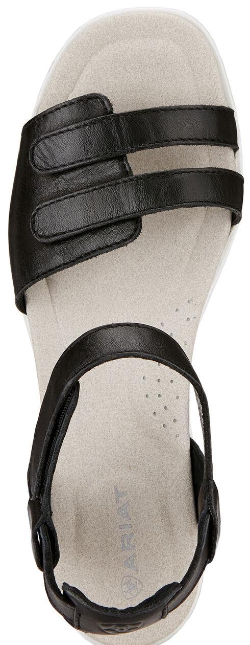 Ariat Women's Black Leisure Time Ankle Strap Sandals , Black, hi-res