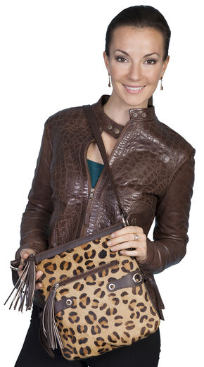Scully Cheetah Print Shoulder Bag, Animal Prt, hi-res