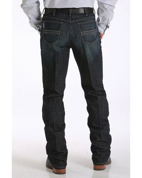 Cinch Men's Silver Label Performance Jeans - Straight Leg , Indigo, hi-res