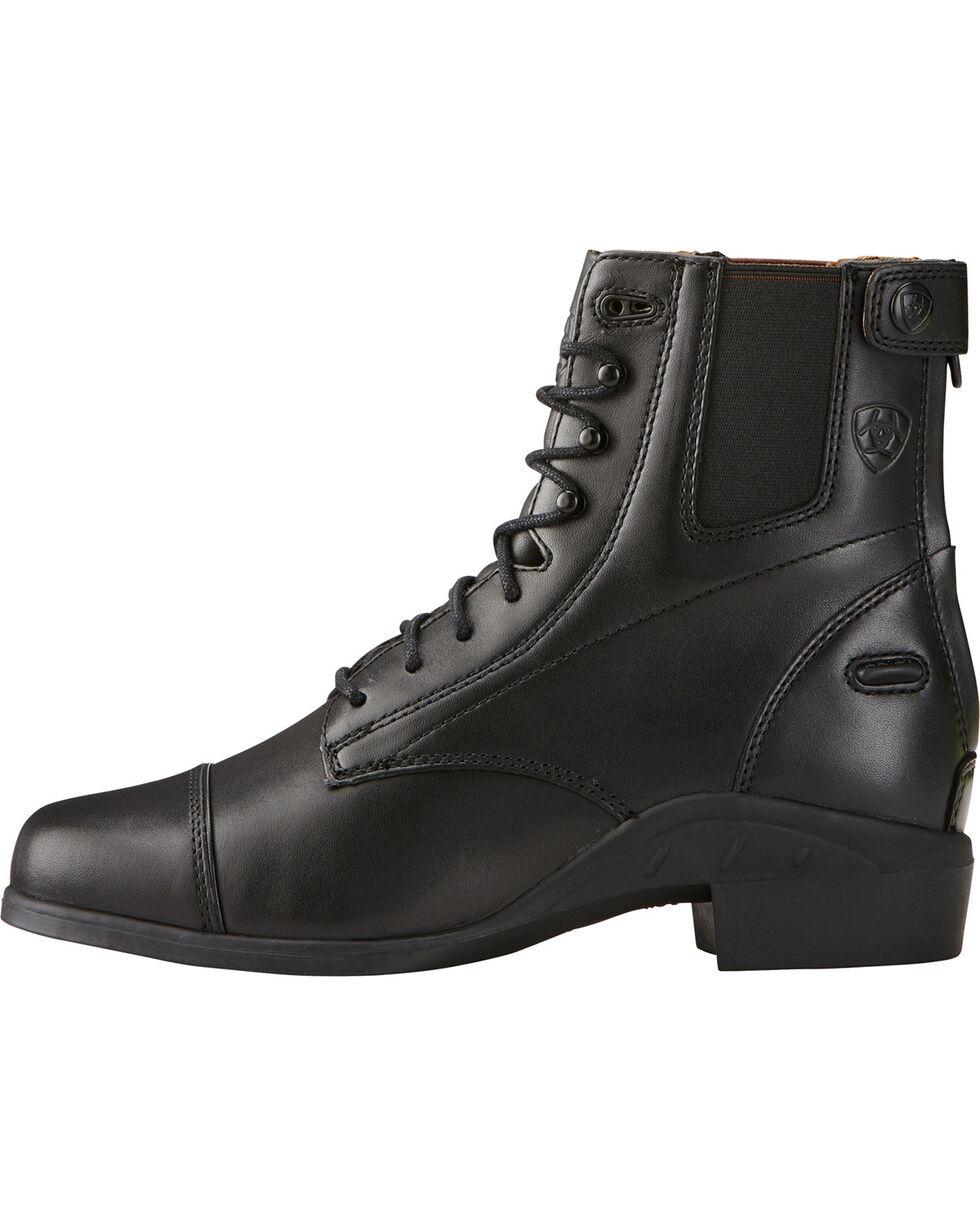 Ariat Performer Riding Boots - Round Toe, Black, hi-res