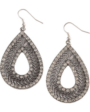 Shyanne Women's Teardrop Earrings , Silver, hi-res
