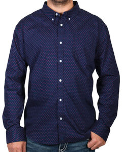 Cody James Dot Patterned Long Sleeve Shirt, , hi-res