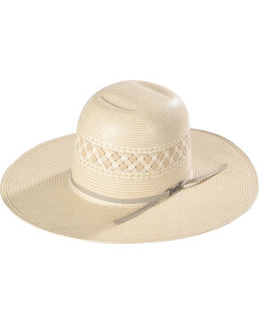 American Hat Co Vented Straw Hat, Natural, hi-res