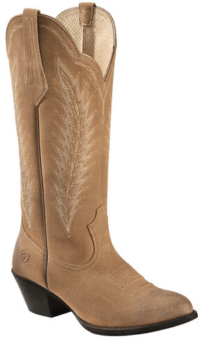 Ariat Driftwood Brown Desert Sky Cowgirl Boots - Round Toe, Brown, hi-res