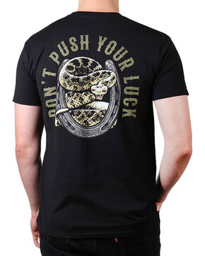 Cody James Men's Push Your Luck T-Shirt, Black, hi-res