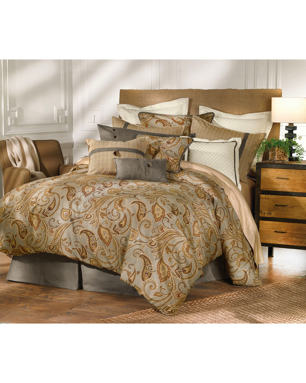 HiEnd Accents Multi Print Piedmont Comforter Set - Super King, Multi, hi-res