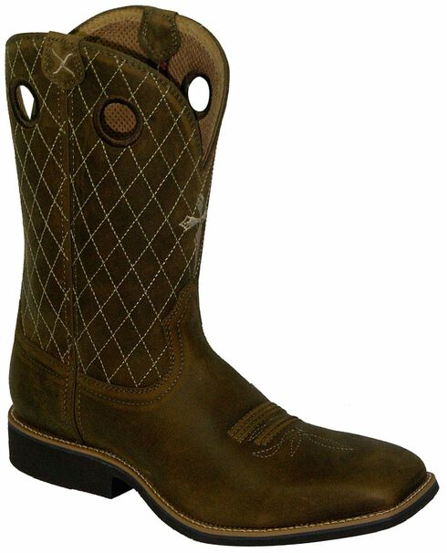 Twisted X Joe Beaver Cowboy Boots - Square Toe, , hi-res