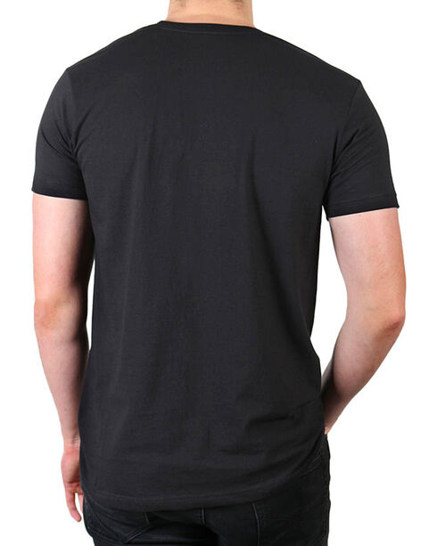 Cody James Men's Country And Reckless T-Shirt, Black, hi-res