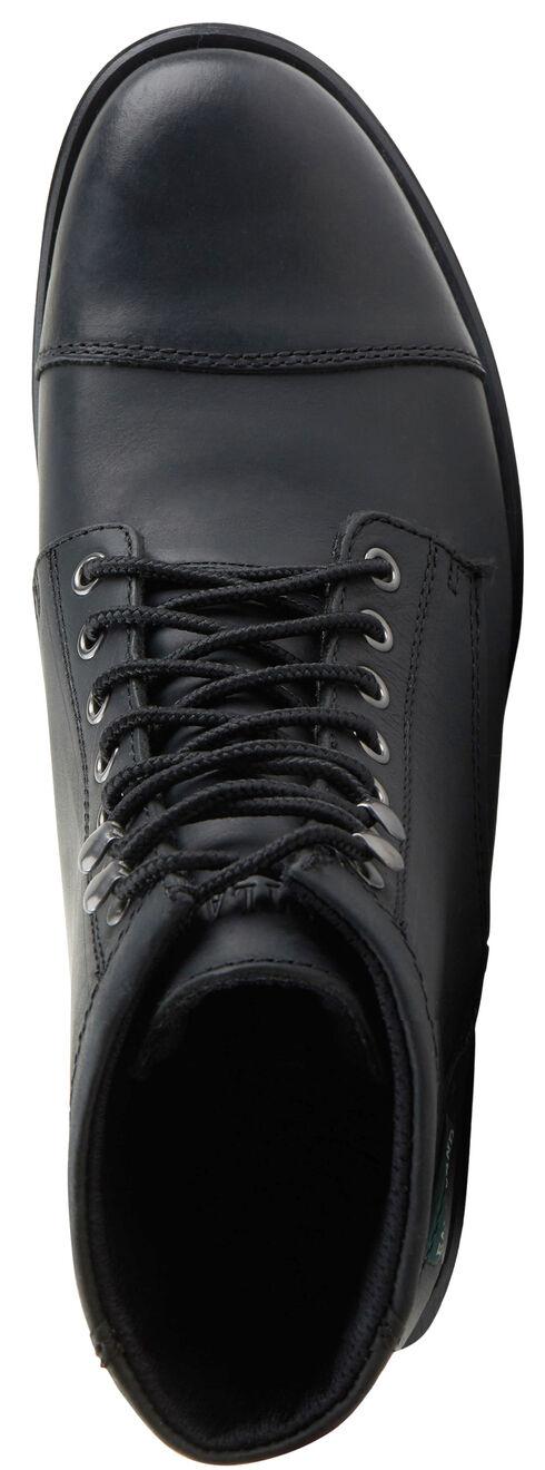 Eastland Men's Black High Fidelity Cap Toe Boots , Black, hi-res