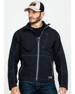 Ariat Men's Rebar Canvas Softshell Jacket , Black, hi-res