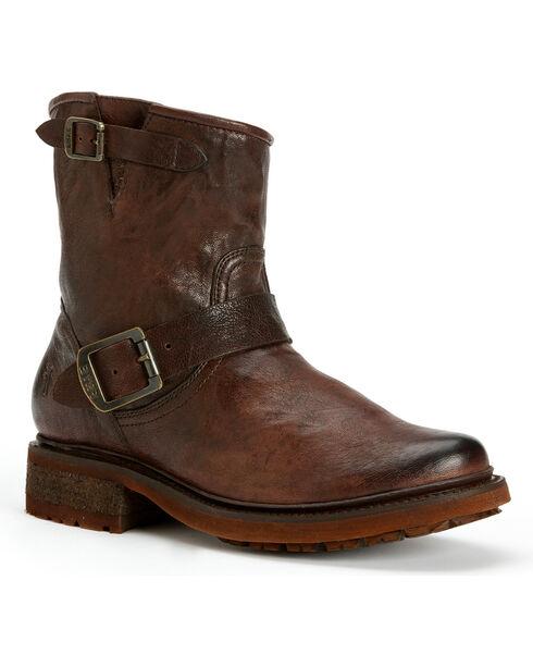 Frye Women's Valerie 6 Shearling Ankle Boots, Dark Brown, hi-res