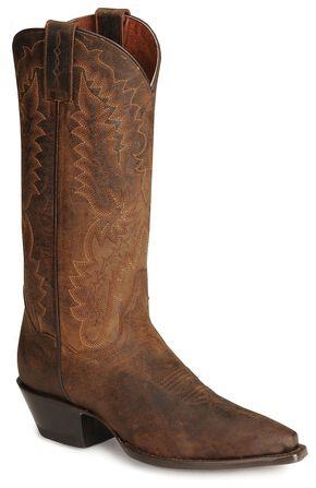 Dan Post Dirty Bull Cowgirl Boots, Bay Brown, hi-res