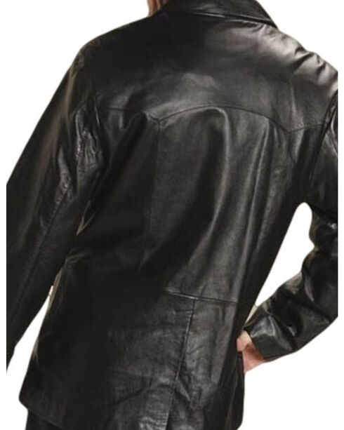 Roper Men's Black Big Mans Western Blazer - Big & Tall, Black, hi-res