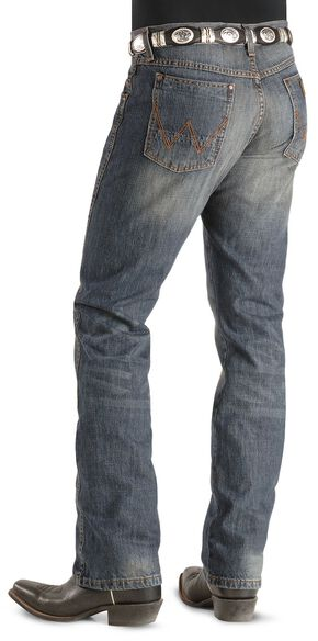 Wrangler Jeans - Dark Knight Denim Retro Slim Fit, Dark Rinse, hi-res