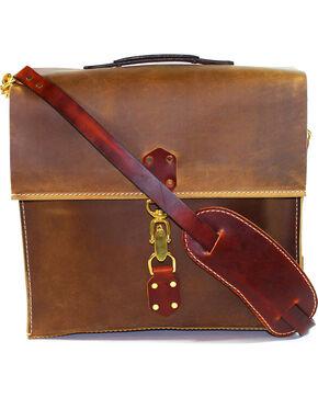 SouthLife Supply Aged Bourbon Messenger Bag, Brown, hi-res