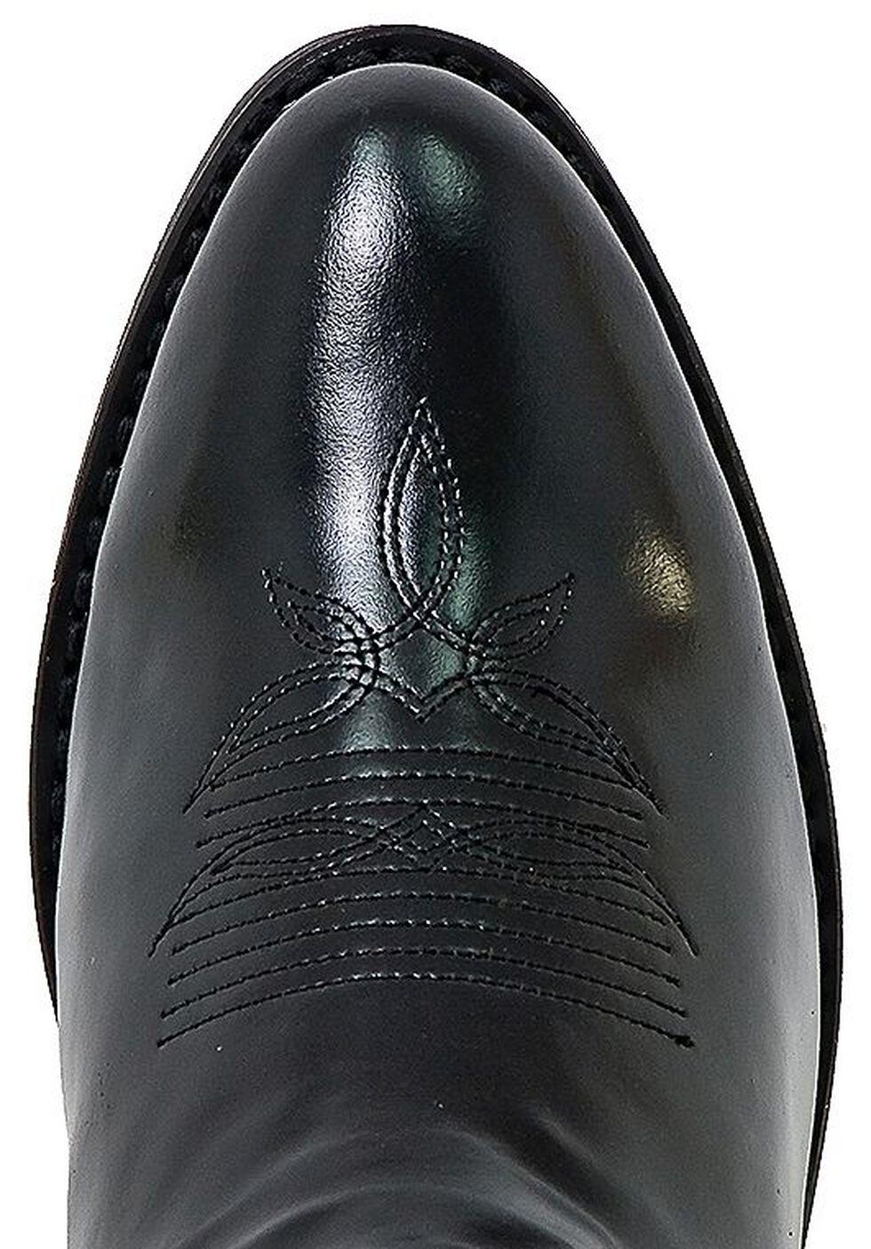 Laredo Classic Western Cowgirl Boots - Round Toe, Black, hi-res