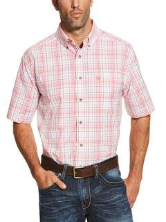 Ariat Men's Coral Nolan Short Sleeve Shirt , , hi-res