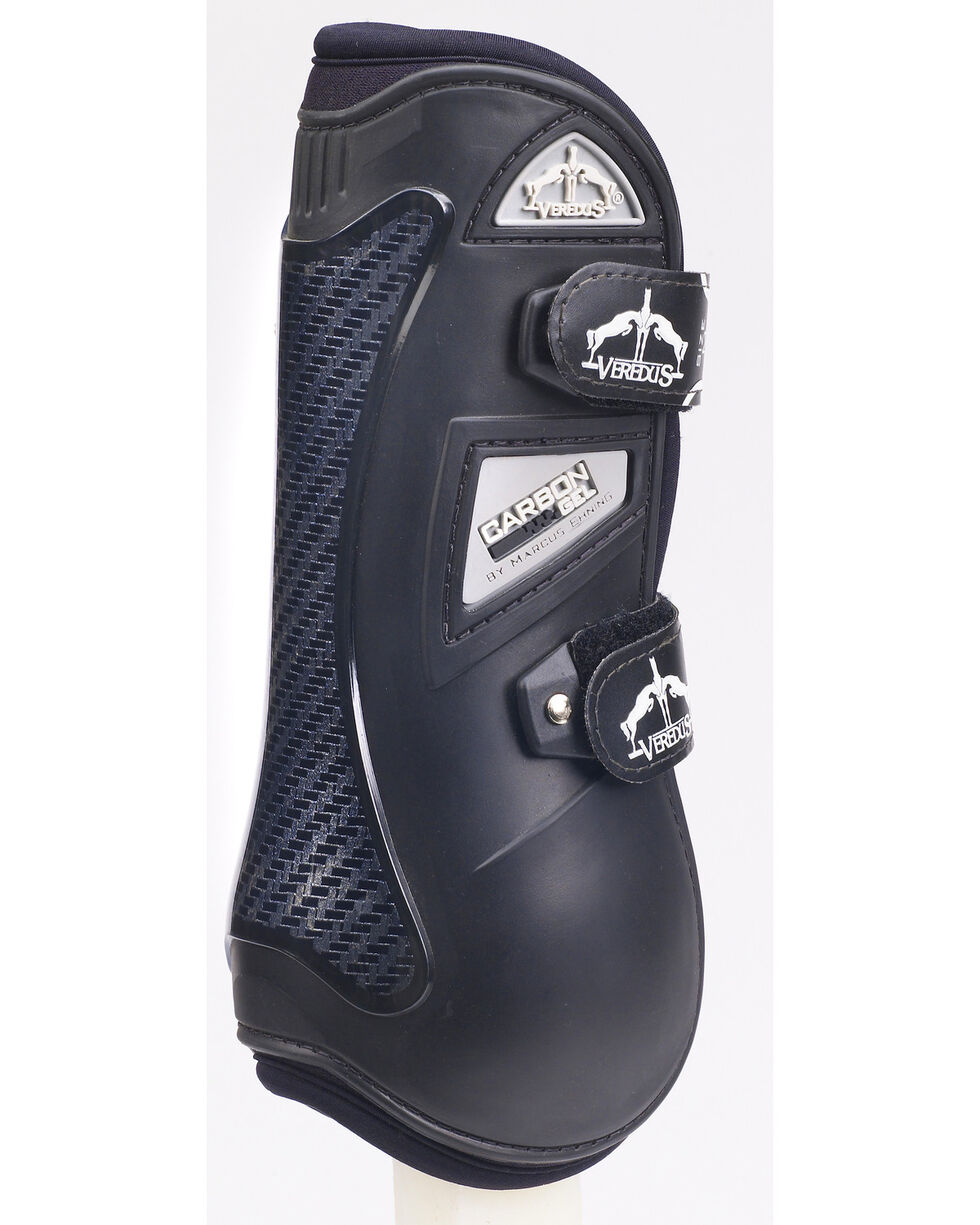 Veredus Carbon Gel Open Front Boot, Black, hi-res