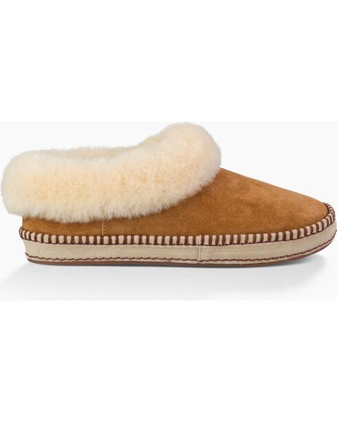UGG Women's Chestnut Wrin Slippers, Chestnut, hi-res