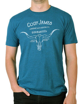 Cody James Men's American Denim T-Shirt, Blue, hi-res